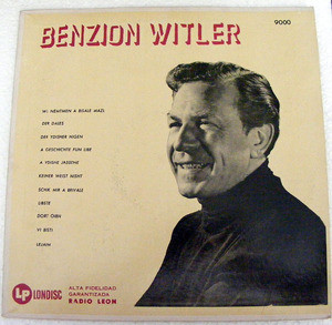 BENZION WITLER & TENOWSKY Londisc 9000 SCHIFRE LERER LP