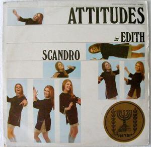 EDITH SCANDRO Kontrast K-4001 ATTITUDES LP
