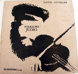 DAVID HITZKOPF Londisc RL 2000 FOLKLOR JUDIO LP