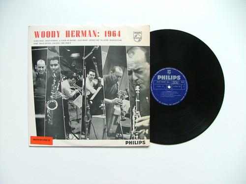 WOODY HERMAN Philips 652042 JAZZ MONO Arg LP 1964