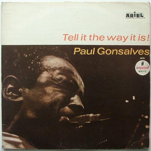 PAUL GONSALVES Tell It The Way It Is ARIEL 55 Arg LP