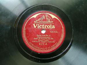 MAUD POWELL Victrola 811 VIOLIN 78rpm GYPSY AIRS