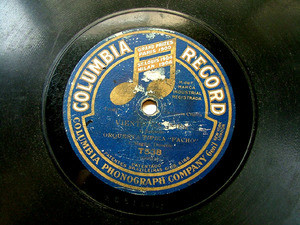 ORQ TIPICA PACHO Columbia T538 TANGO 78rpm CUASI NADA