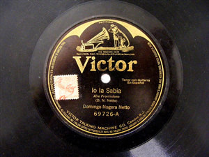DOMINGO NOGERA NETTO Victor 69726 SPANISH 78rpm