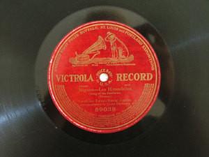 FARRAR & JOURNET Victrola 89038 OPERA 78rpm HIRONDELLES