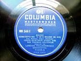 KENTNER piano BEECHAM cond Mozart COLUMBIA 71495 3x78 SET