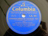 BUSCH Y MOYSE Columbia 441/2 2x78rpm Set BACH