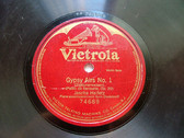 JASCHA HEIFETZ Victrola 74689 VIOLIN 78rpm GYPSY AIR