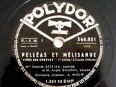 SIMONE, GAUDIN, WOLFF Polydor 566051 OPERA 2x78 DEBUSSY