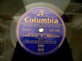 MENGELBERG W. cond Grieg Elegiac COLUMBIA LX168 78rpm
