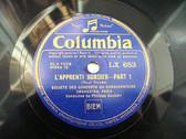 PHILIPPE GAUBERT Columbia 653/4 COND 78rpm DUKAS