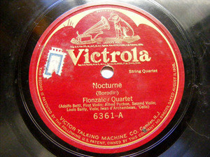 FLONZALEY QTET Victrola 6361 STRINGS 78rpm HAYDN