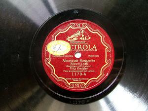 FRITZ KREISLER Scr Victrola 1170 VIOLIN 78rpm ALBUMBLATT