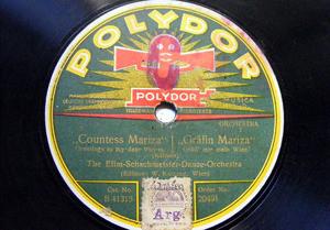 EFIM-SCHACHMEISTER DANCE Polydor 20491 78 GRAFIN MARI