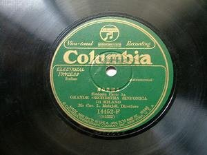 L. MOLAJOLI cond COLUMBIA F-14452 78rpm NORMA