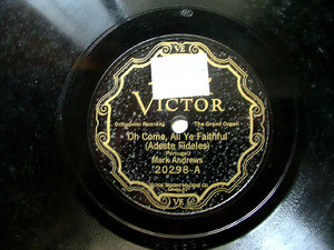 MARK ANDREWS Scroll Victor 20298 ORGAN 78rpm