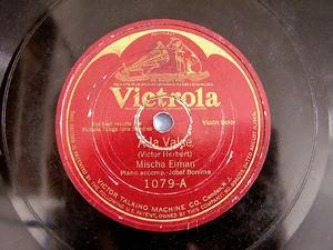 ELMAN MISCHA violin Herbert VICTROLA 1079 10'' 78rpm