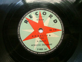 HORACIO GUARANY Arg RECORD 71085 78rpm ANGELICA