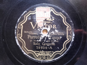 PELAIA & ITALO Scr VICTOR 79809 GUITAR FOLK 78 PURRETITA / SANTIAGUEÑA DE MI AMOR EX