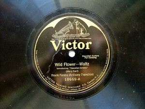 FERERA &  FRANCHINI Victor 18669 HAWAIIAN GUITARS 78rpm