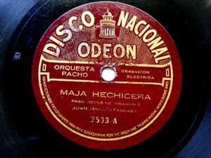 JUAN MAGLIO Nacional 7533 TANGO 78rpm MAJA HECHICERA