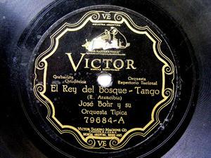 JOSE BOHR Scr VICTOR 79684 TANGO 78rpm REY DEL BOSQUE