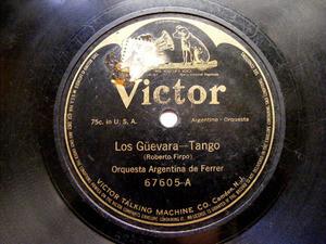 ORQUESTA FERRER Victor 67605 TANGO 78rpm DE MI FLOR