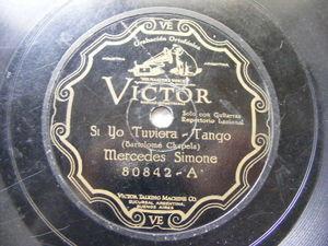 MERCEDES SIMONE Victor 80842 TANGO 78 SI YO TUVIERA / YO SOY LA MILONGUERA