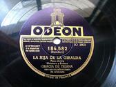 GRACIA DE TRIANA Odeon 184582 SPANISH 78rpm LA HIJA