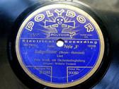 FRITZ WOLFF Polydor 90080 OPERA 78rpm BALLGEFLUSTER
