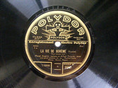 ANGERER & PICCAVER Polydor 66859 OPERA 78rpm LA VIE BOH