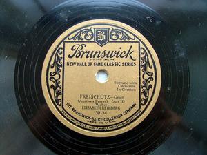 E. RETHBERG Brunswick 50154 OPERA 78rpm AVE MARIA