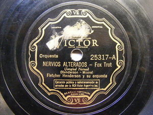 FLETCHER HENDERSON Victor 25317 JAZZ 78 JANGLED NERVES / I'LL BE ALWAYS IN  LOVE