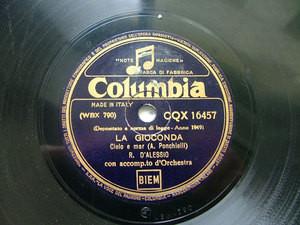 D'ALESSIO & BUADES on COLUMBIA 16457 12'' 78 FAVORITA