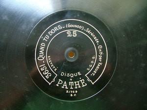 ALBERT VAGUET ten PATHE 21769 12'' 78rpm GOUNOD
