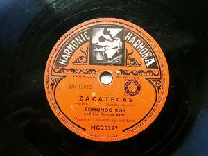 EDMUNDO ROS Harmonic 20297 LATIN 78rpm MANANA