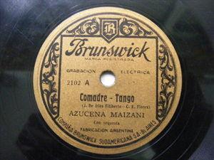 AZUCENA MAIZANI Brunswick 2102 TANGO 78 COMADRE / BRUJA