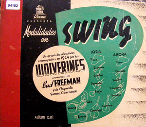 BUD FREEMAN Plays WOLVERINES Odeon 286253 4x78rpm Set