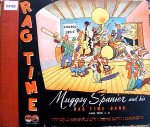 MUGGSY SPANIER RAG TIME BAND Victor 62-0075 4x78rpm Set
