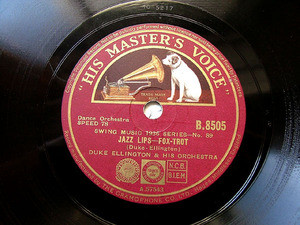 DUKE ELLINGTON Hmv B8505 JAZZ 78rpm JAZZ LIPS