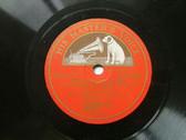 "J. HEIFETZ violin HMV 1702 10"" 78rpm STAR OF LOVE"