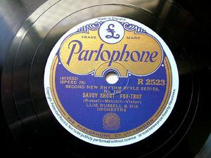 ELLINGTON / RUSSEL Parlophone 2523 JAZZ 78rpm JUBILEE STOMP