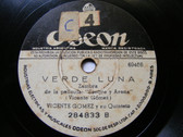 VICENTE GOMEZ QUINTET Odeon 284833 78rpm GUITAR CHI QUI