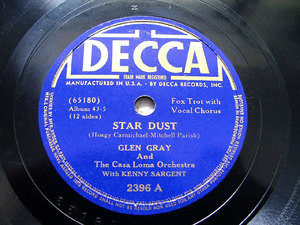 GLEN GRAY & K. SARGENT Decca 2396 JAZZ 78rpm