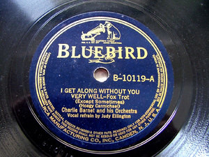 CHARLIE BARNET & His Orch BLUEBIRD B-10119 JAZZ 78rpm