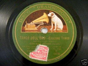 DANIELE SERRA Grammofono 10235 ITALIAN 78rpm PLEGARIA