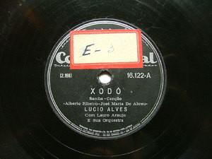 LUCIO ALVES Continental 16122 SAMBA 78rpm XODO