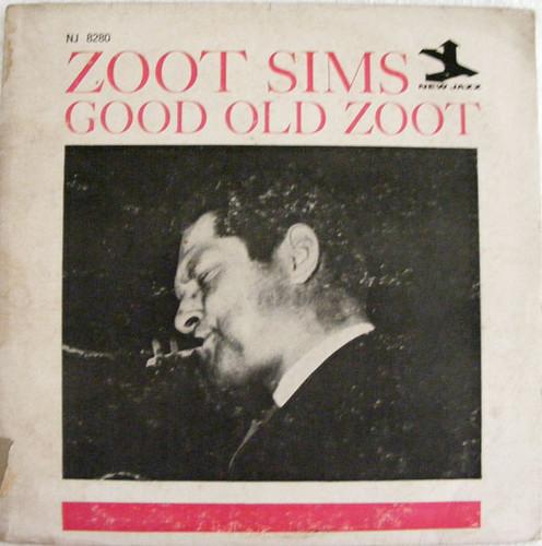ZOOT SIMS Good Old Zoot MICROFON NJLP-8280 Argentina LP