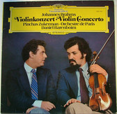 ZUKERMAN & BARENBOIM dg 2531 251 BRAHMS LP