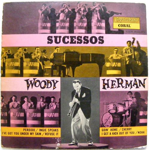 """WOODY HERMAN Sucesos CORAL 3507 BRAZIL 10"""" LP"""